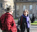Blue badge tourist guide in Edinburgh