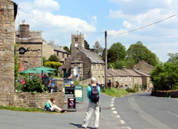 The village of Muker in Swaledale